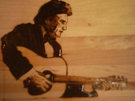Johnny Cash by Timothy Wilkerson