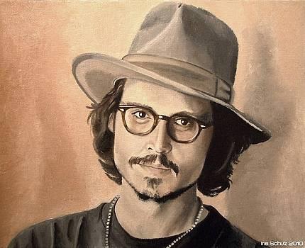 Ina Schulz Artwork Collection  Johnny Depp 2254b082452b