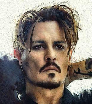 Johnny Depp by Antonella Torquati
