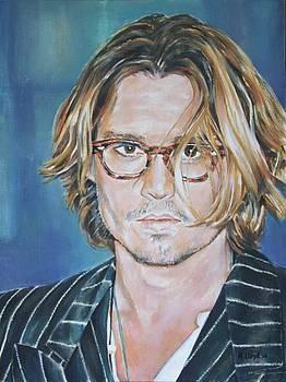 Johnny Depp in London by Andy Lloyd