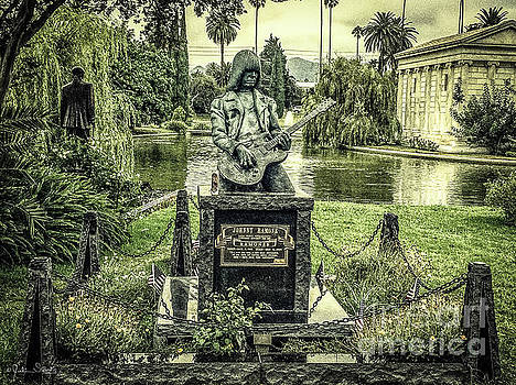 Julian Starks - Johnny Ramone Burial Site