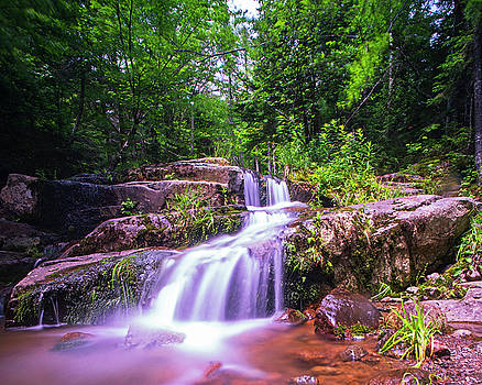 Toby McGuire - Johns Brook Trail Big Slide Mountain Keen Valley NY Waterfall