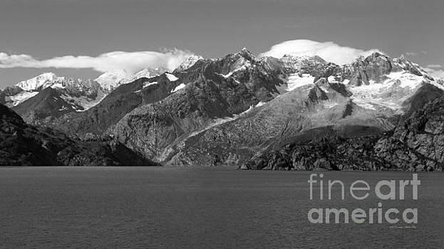 Connie Fox - Johns Hopkins Glacier BW, Glacier Bay Seascapes 16x9