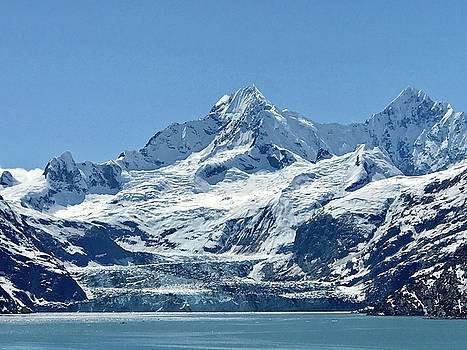 Johns Hopkins Glacier by Russell Keating