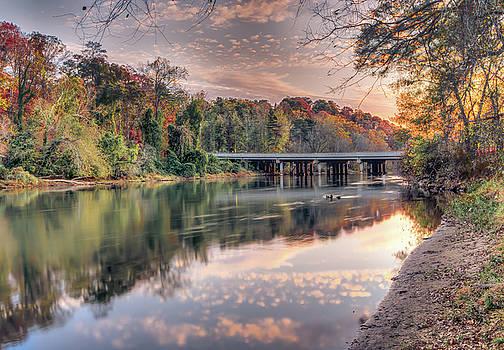Johnson Ferry Bridge by Anna Rumiantseva