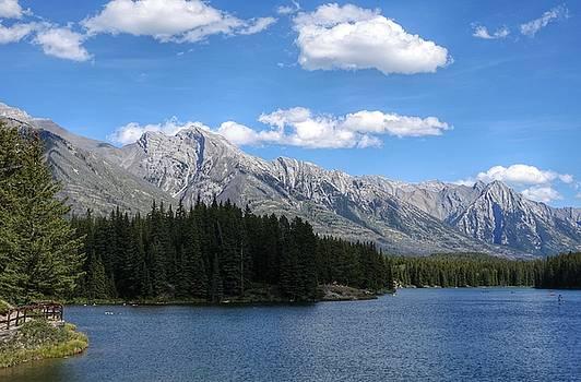 Johnson Lake, Alberta by Heather Vopni