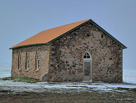 Johnson Mesa Church by Tom Winfield