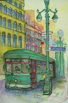 St Charles Streetcar by Terri Thames-Johnson