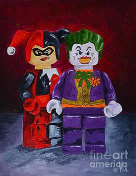 Joker and Harley by Herschel Fall