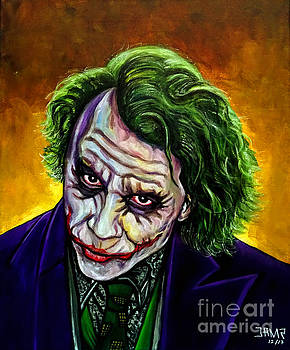 Joker Heath Ledger by Jose Mendez