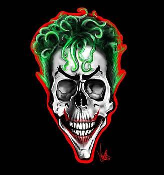 Joker Skull by Vinny John Usuriello