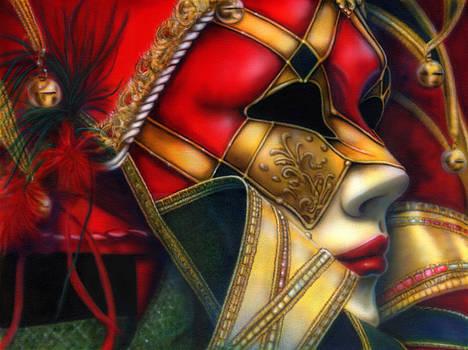 Jolly Mask I by Wayne Pruse