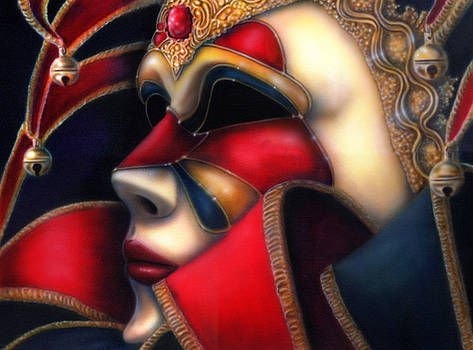 Jolly Mask II by Wayne Pruse