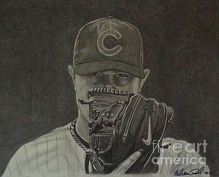 Jon Lester Portrait by Melissa Goodrich