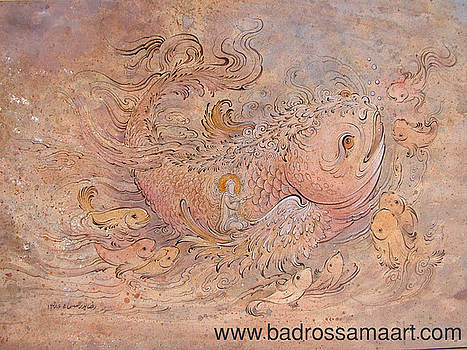 Jonah prophet 2 by Reza Badrossama