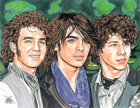 Jonas Brothers by Neal Portnoy