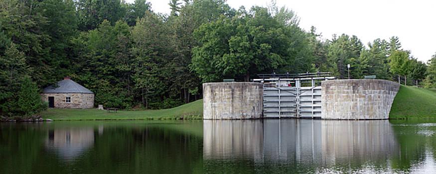 Jones Falls Upper Lock and Blockhouse by Paul Wash