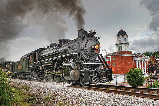 Jonesborough Train by Earl Carter