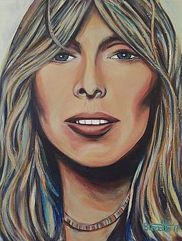 Joni Mitchell by Suzette Castro