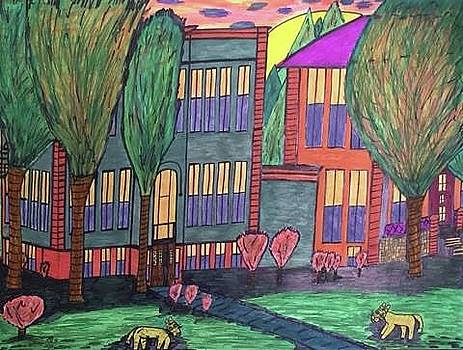 Jordan College West Drive Menominee by Jonathon Hansen