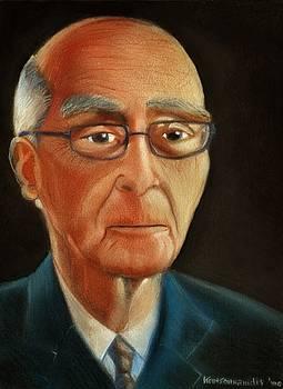 Jose Saramago by Kostas Koutsoukanidis