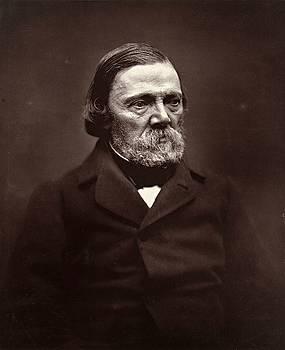 Joseph Mery, portrait, ca. 1870 by Vintage Printery