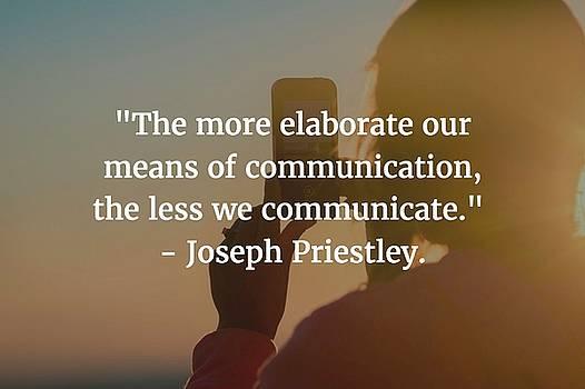 Matt Create - Joseph Priestley Quote