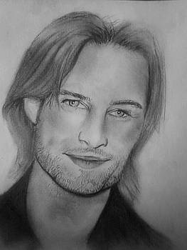 Josh Holloway Sawyer by Angela Moore