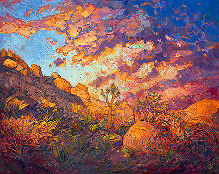 Joshua Aflame by Erin Hanson