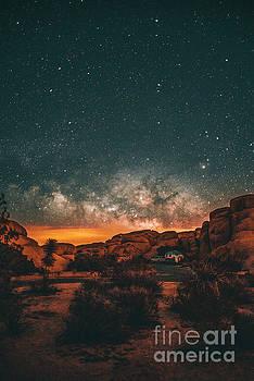 Joshua Tree Milky Way by Art K