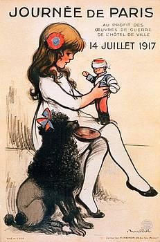 Journee de Paris, propaganda poster, 1917 by Vincent Monozlay