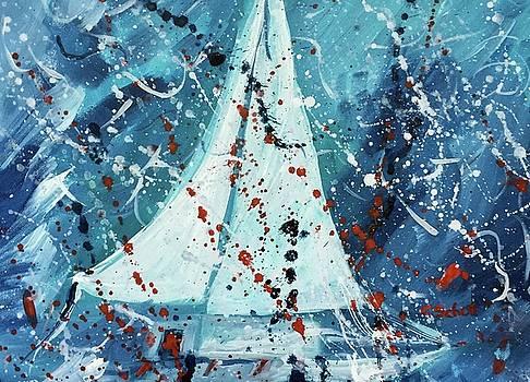 Journey I by Christina Schott