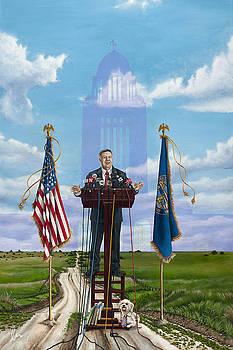 Journey of a Governor Dave Heineman by Cindy D Chinn