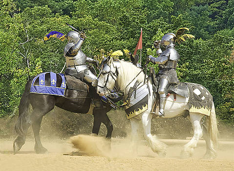 Jousting by JR Harke Photography