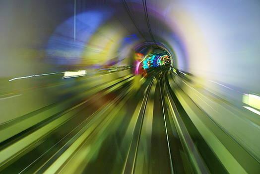 Joy in the Bund Tunnel by Lynn Vidler