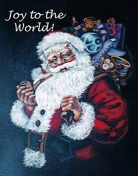 Cindy Treger - Joy to the World - Santa