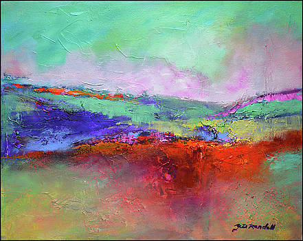 Joyful land #2 by Donna Randall