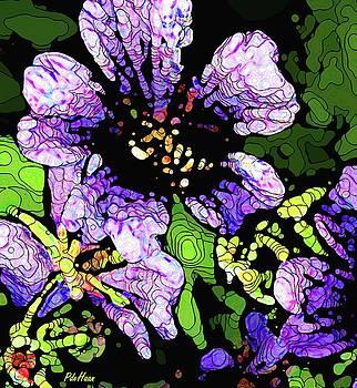Joy's Garden 1 by Peggy De Haan