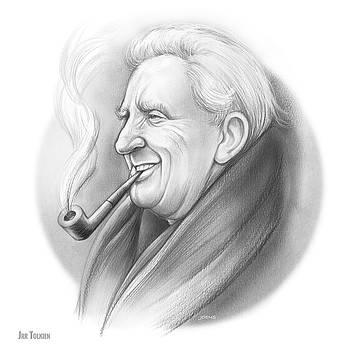 JRR Tolkien by Greg Joens