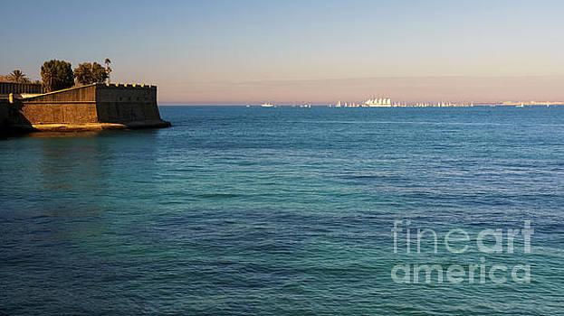 Juan Sebastian Elcano Port of Cadiz Departure by Pablo Avanzini