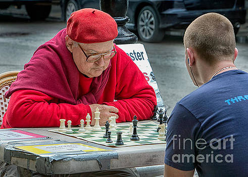 Jude Acers Chess Master by Jerry Fornarotto