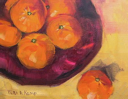 Judi's Tangerines by Tara D Kemp