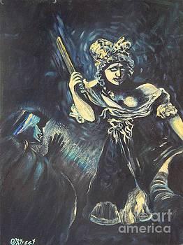 Caroline Street - Judith and Holofernes after Goya