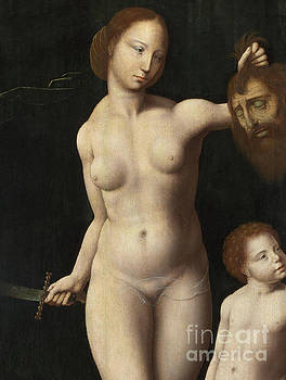 Judith and the Infant Hercules  Detail by Master of the Mansi Magdalen