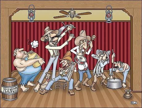 Jug Band by Bill Proctor