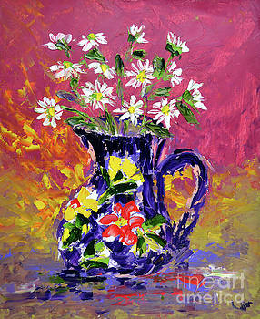 Jug of Daisies by Lynda Cookson