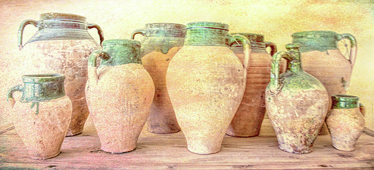 Olive Jugs by Donnie Bagwell