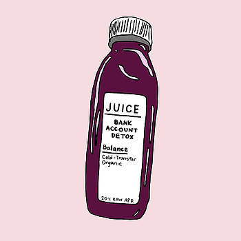 Juice Cleanse Bank Detox by Cortney Herron