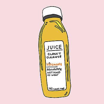 Juice Cleanse Closet by Cortney Herron