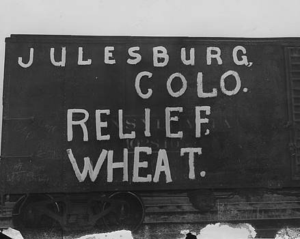Chicago and North Western Historical Society - Julesburg Colorado Wheat Donation for Friendship Train - 1947